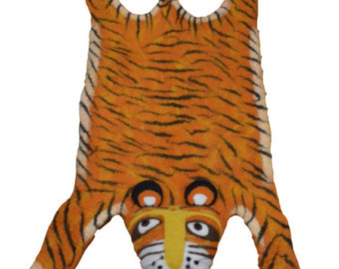 Kids rug animal rug children rug animal skin rug animal character rug tiger skin rug hunters rug children rug kids Christmas gift rug unique