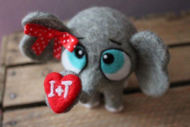 Słonik Walentynkowy