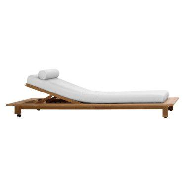 Nouveautés été : 45 chaises longues, transats et bains de soleil : Chaise longue Inout - Le Cèdre rouge - Déco - Plurielles.fr