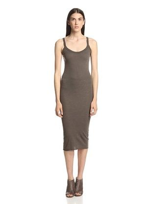 45% OFF Rick Owens Lilies Women's Tank Dress (Dark Dust)