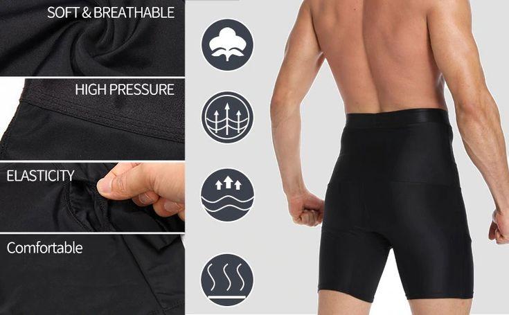 Mens girdle compression shorts inspiring product