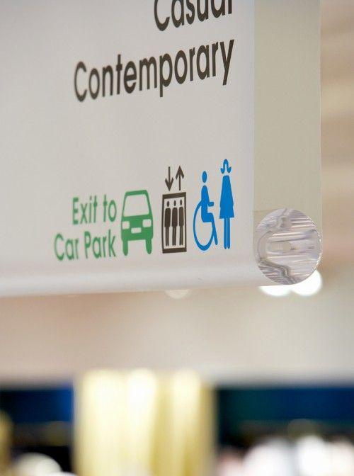 Oxford Street store wayfinding & signage | Designer: Cartlidge Levene | Image 5 of 10