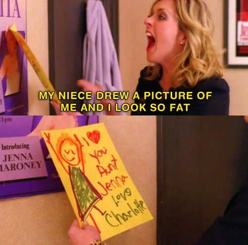 My favorite character on tv, Ms. Jenna Maroney from 30 Rock <3