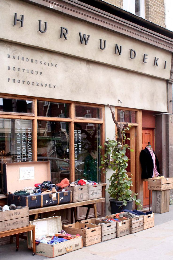 Rustic | Retail storefront | Hurwundeki | London