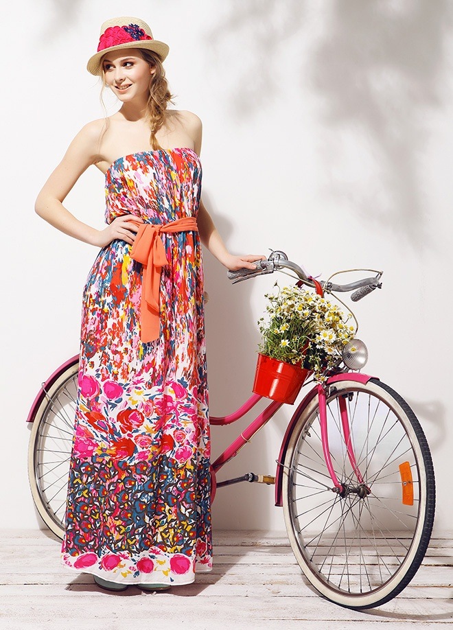 Mixray Straplez elbise Markafonide 120,00 TL yerine 39,99 TL! Satın almak için: http://www.markafoni.com/product/3779394/