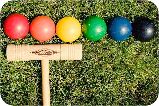 Summer croquet party!