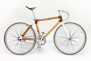 Bamboo bike from Boutique Cycels Dot Com