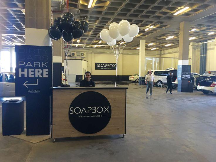 Soapbox Carwash & Valet Centre   Social Media Management, Creative Design & Signage
