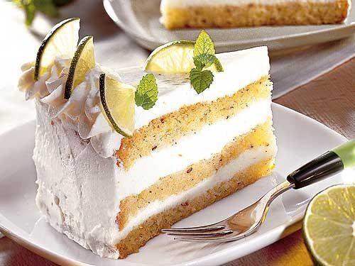 Limetten-Biskuit-Torte - bildderfrau.de