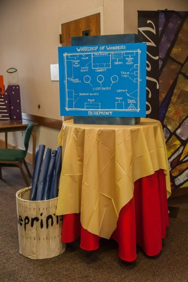 206 best vbs 2017 maker fun factory images on pinterest 2017 vbs vbs workshop of wonders blueprints malvernweather Choice Image