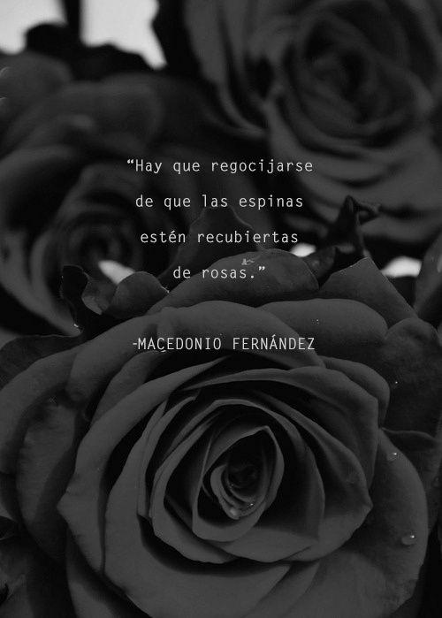 Macedonio Fernández, espinas, rosa, poesía latinoamericana, escritor argentino, UNAM