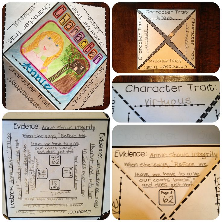 Crystal's Classroom: Reading Foldables
