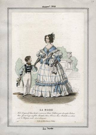 La Mode August 1836