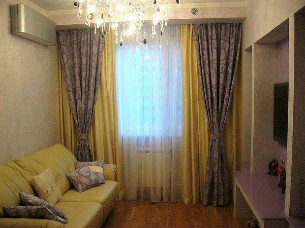 Итальянские шторы в интерьере гостиной, кухни, спальни: 22 фото