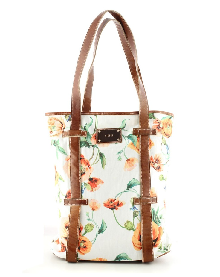 Day Party Bag in Poppy Print - What's New