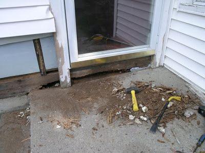 9 best dry rot images on pinterest house repair window - Repairing wood rot on exterior door ...