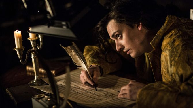 Aneurin Barnard plays Mozart