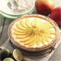 Tropical Lime and Mango Pie-change to graham cracker crust