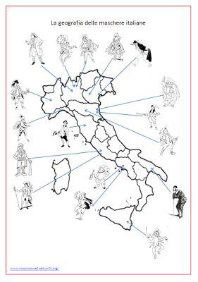 Guamodì Scuola: La geografia con le maschere di Carnevale
