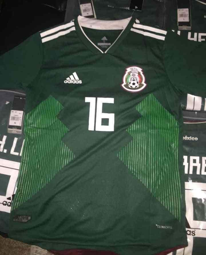 newest 24bab b72c1 Details about ADIDAS CHICHARITO MEXICO 2018 WORLD CUP AWAY ...