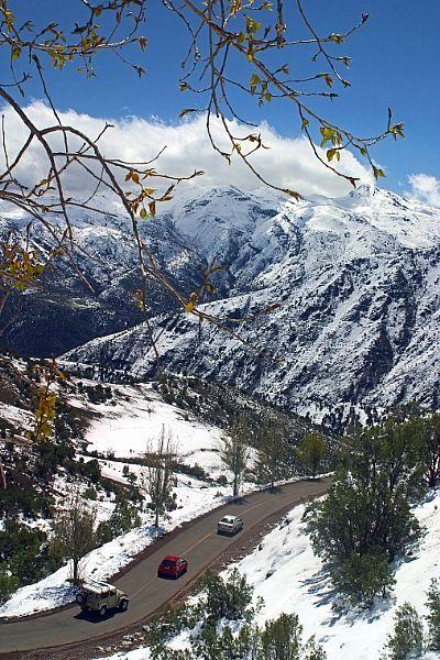 Camino de Valle Nevado.