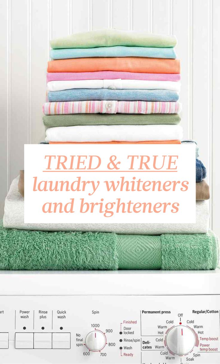 Tried & True Laundry Whiteners & Brighteners   Martha Stewart Living - Available in powder or liquid form, these laundry aids can brighten, deodorize, and soften laundry. Here is some know-how from Martha Stewart's Homekeeping Handbook.