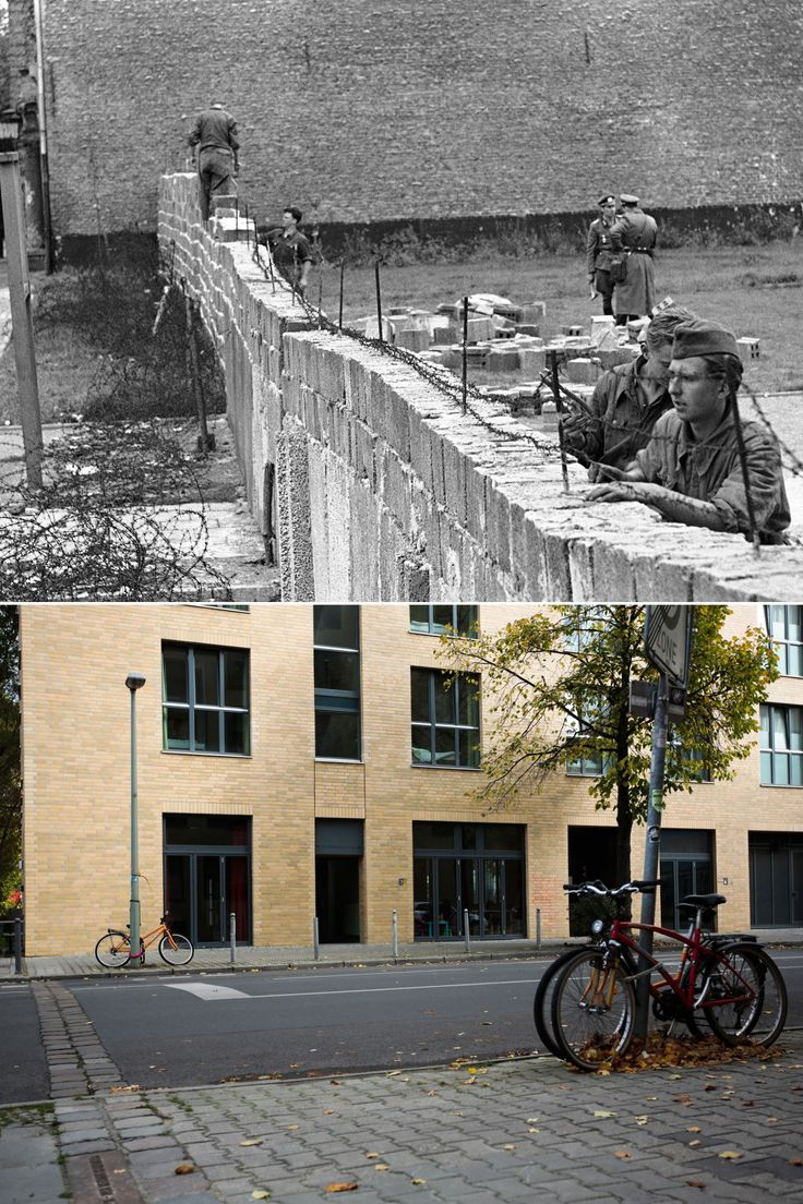 a history of the berlin wall in germany President kennedy and the berlin wall  clifton read that the east german  regime had just cut berlin in two and was starting to build a barrier.