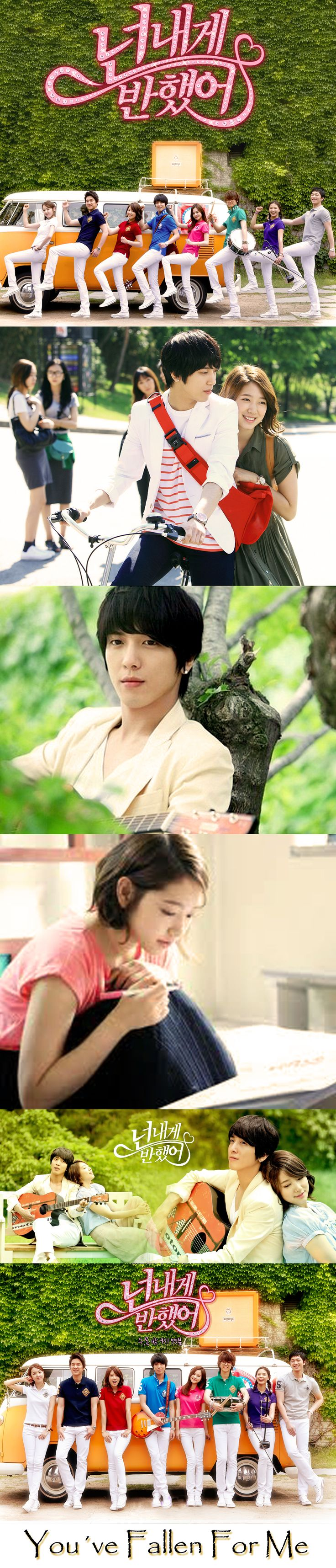 You´ve Fallen For Me ( also known Heartstrings) K drama 2011 - 15 episodes - Park Shin Hye / Jung Yong Hwa / Song Chang Ui / So Yi Hyun