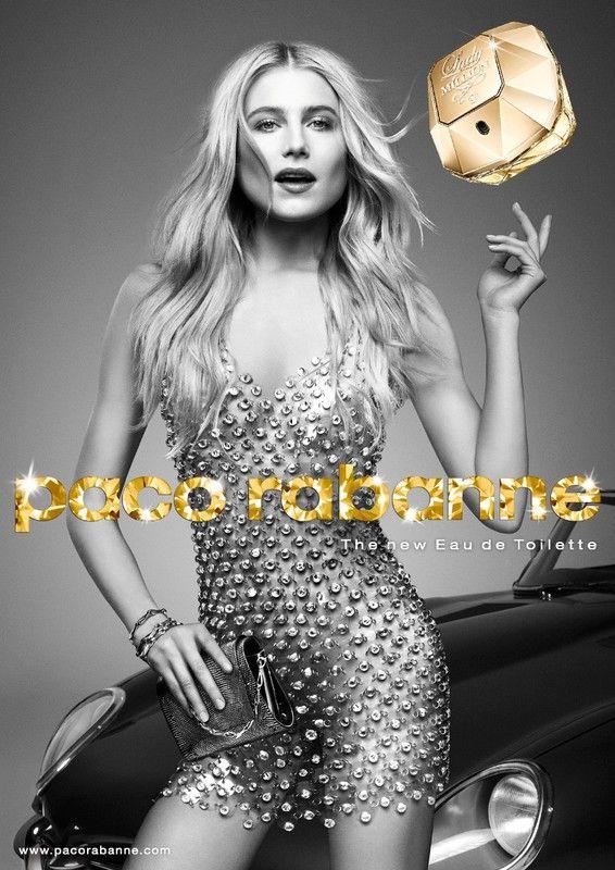 """Nouveau parfum Paco Rabanne  ...  """"Lady Million"""" !"""