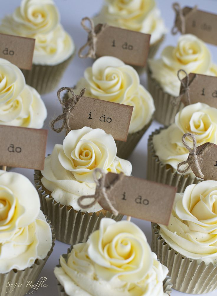 Spring Wedding Cupcake Tower