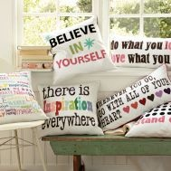 quote pillows: Bedrooms Quotes For Teen, Decor Pillows For Teen, Cute Quotes, Girls Room, Teen Bedrooms Quotes, Dreams Room, Throw Pillows, Bedrooms Ideas, Cute Pillows For Teen