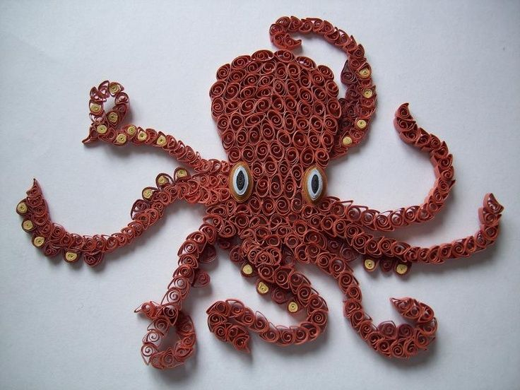 octopus quilling - Google Search