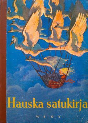 Hauska satukirja - nostalginen teos täynnä klassikkosatuja kuvituksineen