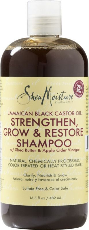 SheaMoisture Jamaican Black Castor Oil Strengthen Grow & Restore Shampoo