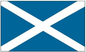 Schottland Flagge - St Andrews