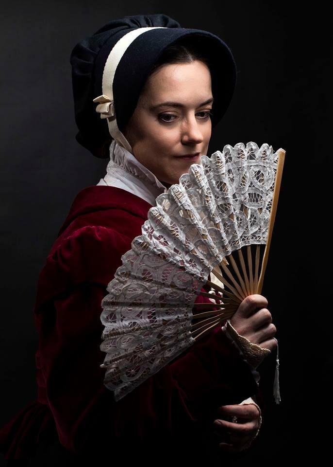 Ladies dress from the early 19 th century: woolen dress, velvet spencer and bonet ...