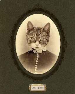 Quirky Artist Loft: Photoshop Tutorial: Digital Collage Victorian Pet Portraits