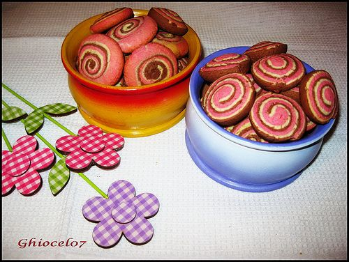 Biscuiți tricolori
