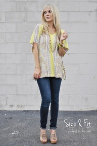 Post pregnancy fashion tips-where was this five years ago? I was such a frump after K was born!
