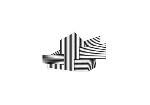 Nouveau Theatre de Montreuil logo via logo design love