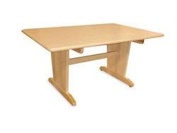 "Hann Art Table without Bookshelves - 42"" x 60"" x 29-3/4"""