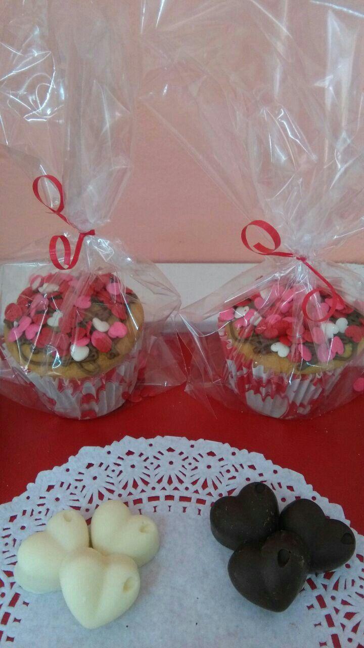 Bombones y Muffins - Día de los Enamorados