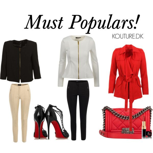 Must populars by jessicamola on Polyvore featuring Christian Louboutin and Chanel