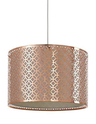 Belize Metal Ceiling Lamp Shade | M&S £69