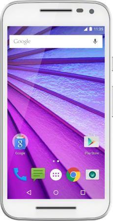 Moto G Gen.3 8Gb (белый)  — 7490 руб. —  НЕ ПРОПУСКАЕТ ВЛАГУ. НИКАКИХ ЗАБОТ Телефон должен быть готов к работе в любых условиях. Водонепроницаемость в соответствии со стандартом IPX7 защитит устройство от брызг и падений в воду. Если телефон случайного упадет в лужу или наполненную водой раковину, просто высушите его и продолжайте работу. СТЕКЛО ПОВЫШЕННОЙ ПРОЧНОСТИ Стекло повышенной прочности Corning Gorilla Glass практически полностью покрывает Moto G, защищая устройство от царапин. ЦЕЛЫЙ…