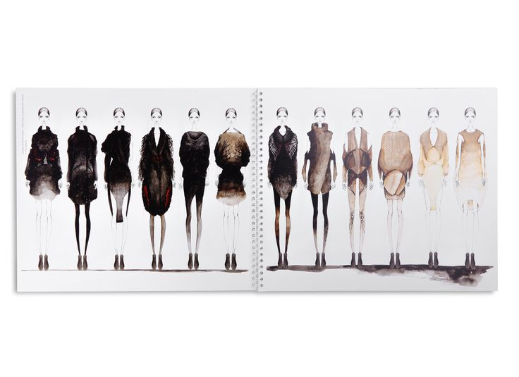 Fashion Sketchbook - fashion design drawings; fashion sketches; fashion student portfolio // Tae Kyung Kim