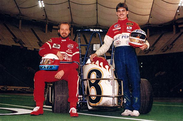 Jeff Gordon | Jeff Gordon was a sprint car phenom in 1990. At the age of 19, he won the USAC Midget championship. Jeff ran 21 USAC Midget Car races. He was the fastest qualifier 10 times, won nine races and became the youngest Midget class champion ever.