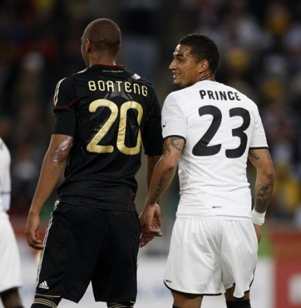 Kevin-Prince and Jerome Boateng brothers on separate international teams. True story.
