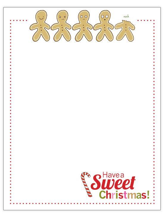 25+ unique Christmas letter template ideas on Pinterest Santa - christmas letterhead templates word
