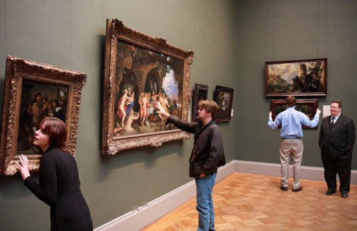Struggling Museum Now Allowing Patrons To Touch Paintings | The Onion - America's Finest News Source